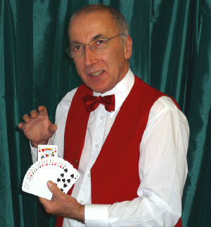 Christian magician Peter Gardini of Aston Magic